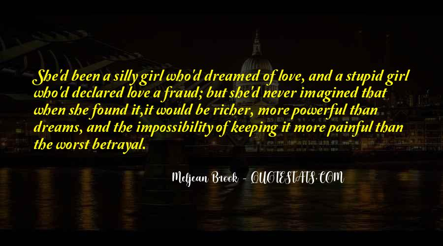 Girl In Your Dreams Quotes #622020