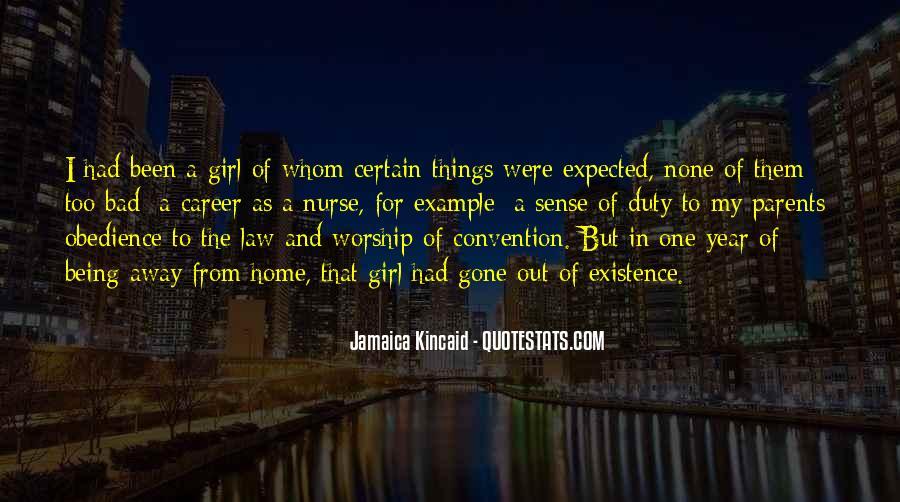 Girl Jamaica Kincaid Quotes #1200288