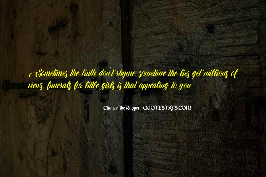 Girl Lying Quotes #1009937