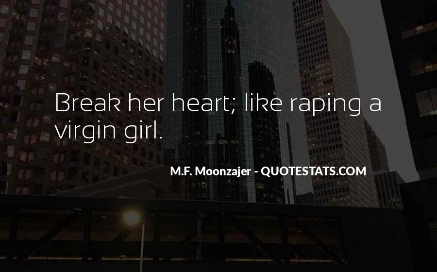 Girl Virgin Quotes #1547179