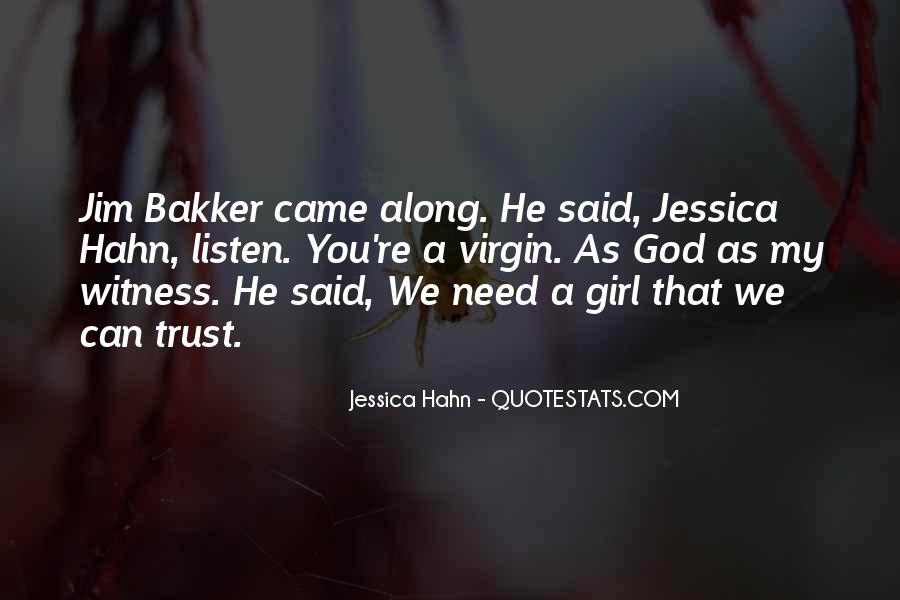Girl Virgin Quotes #1618481