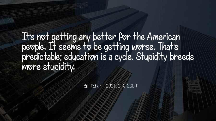 Quotes About Getting An Education #1287865