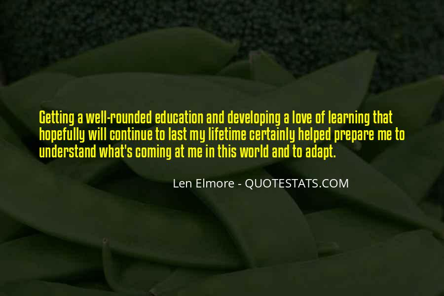 Quotes About Getting An Education #1544504