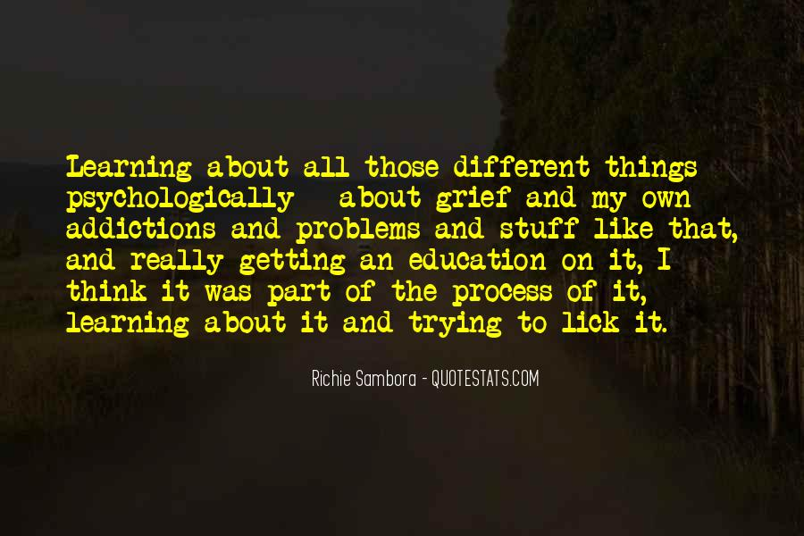 Quotes About Getting An Education #182906