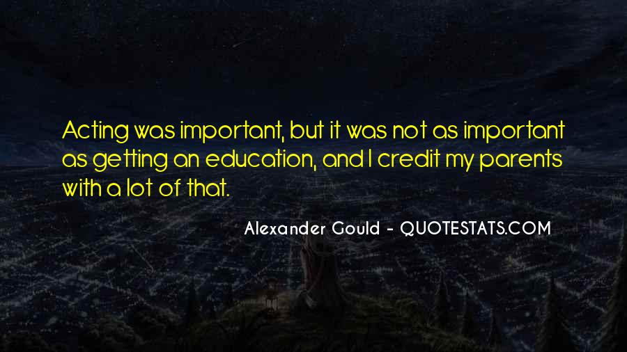 Quotes About Getting An Education #27872