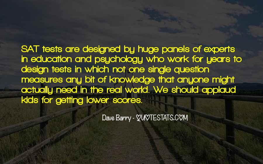 Quotes About Getting An Education #30516