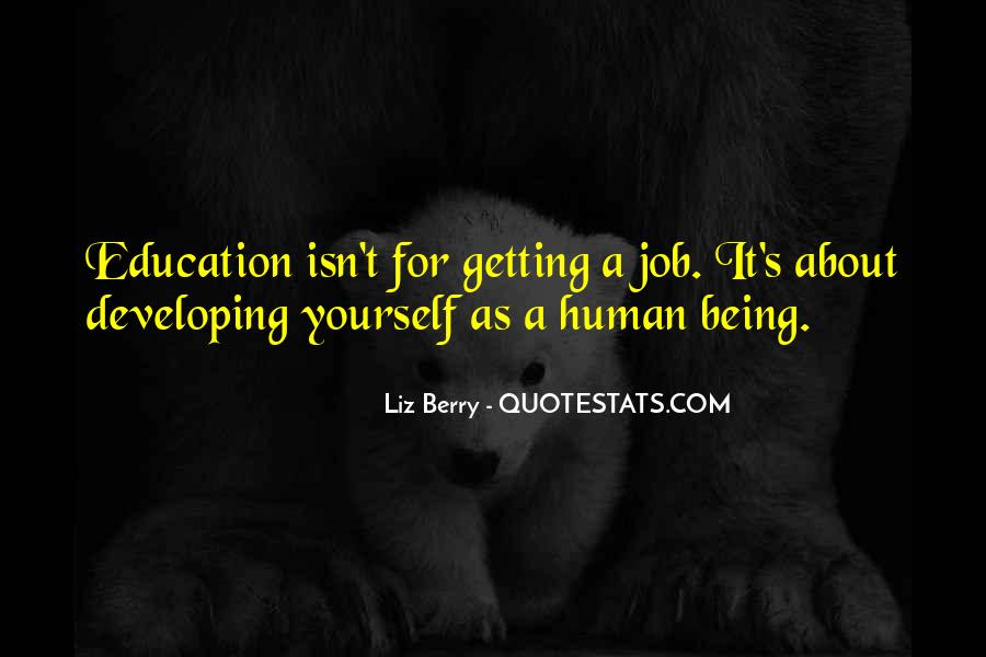 Quotes About Getting An Education #400928