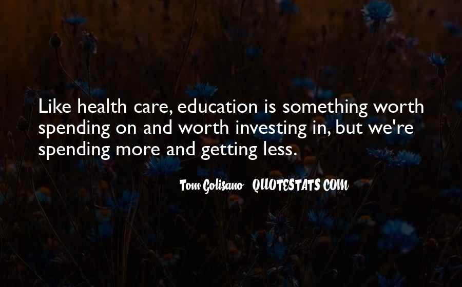 Quotes About Getting An Education #615567