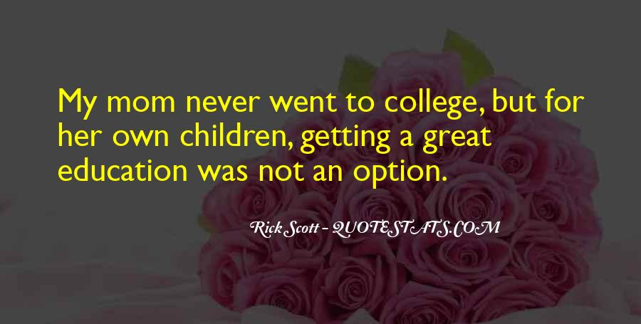 Quotes About Getting An Education #822916