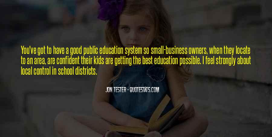 Quotes About Getting An Education #876516