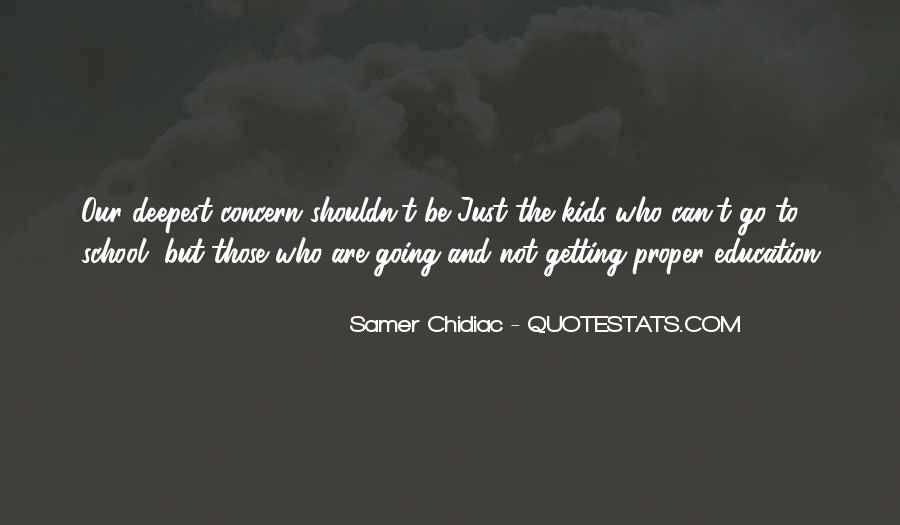 Quotes About Getting An Education #905723