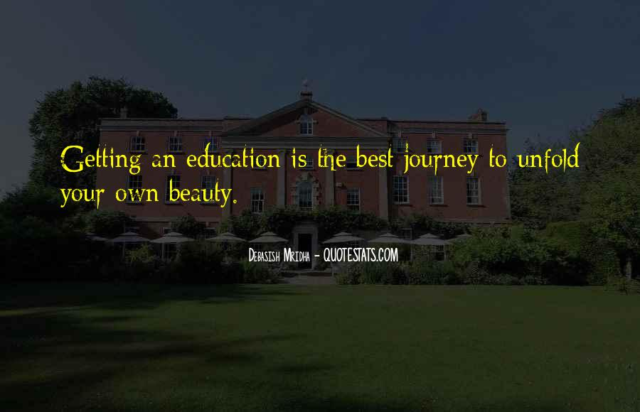 Quotes About Getting An Education #967452