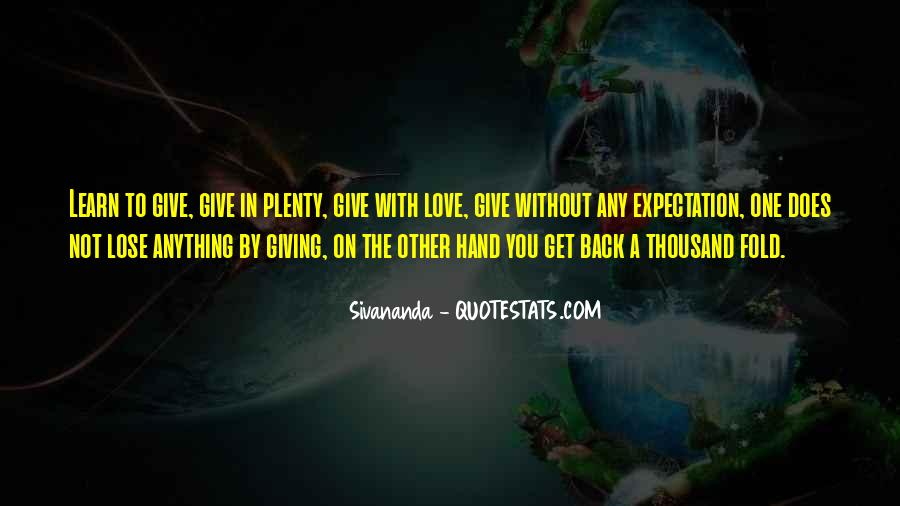 Give Love Get Love Quotes #128941