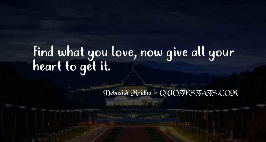 Give Love Get Love Quotes #23102
