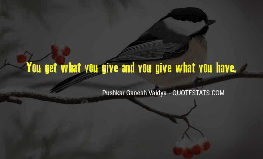 Give Love Get Love Quotes #24761