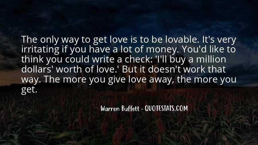 Give Love Get Love Quotes #73546