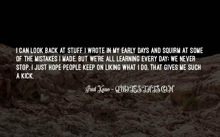 Gives Back Quotes #256374