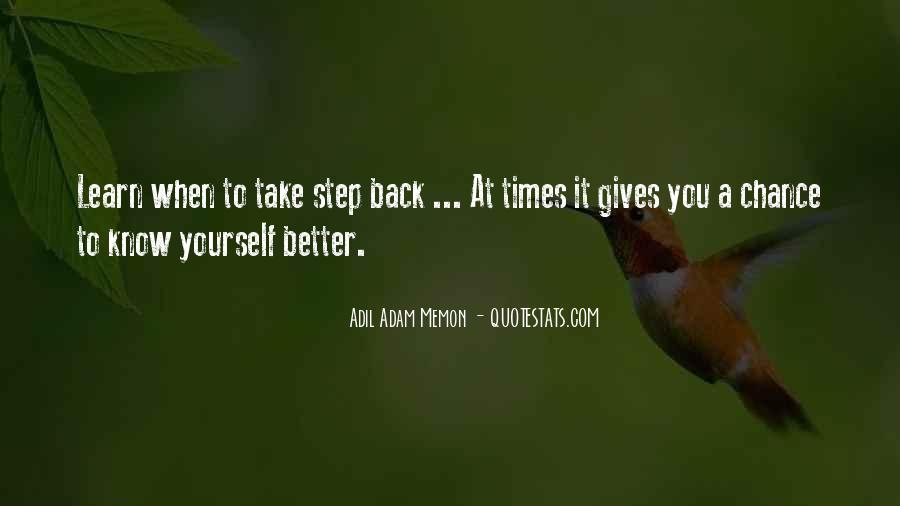 Gives Back Quotes #359538