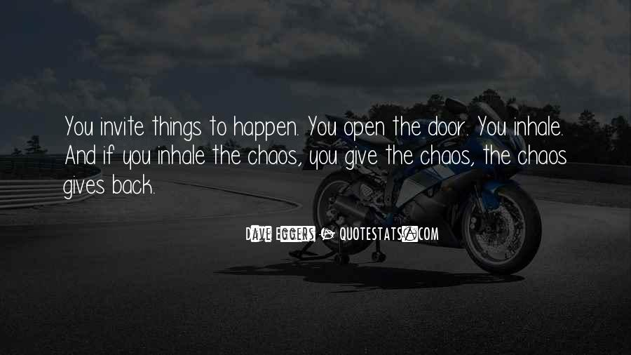 Gives Back Quotes #47084