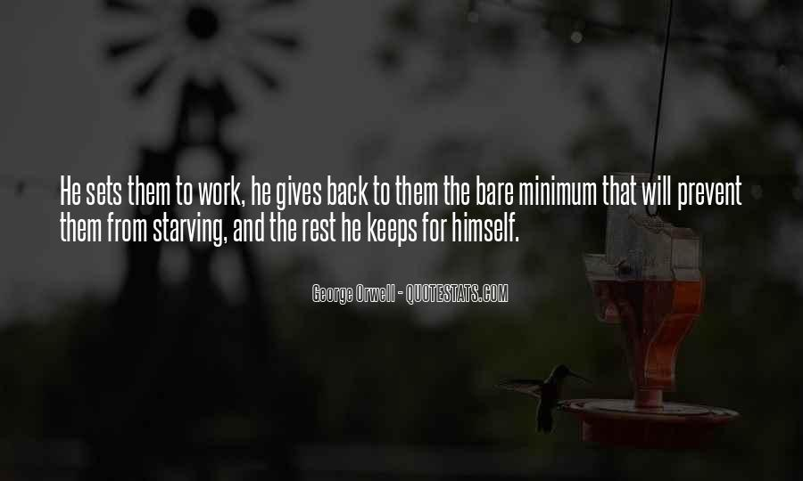 Gives Back Quotes #577012
