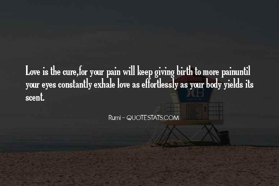 Giving Birth Pain Quotes #1801487