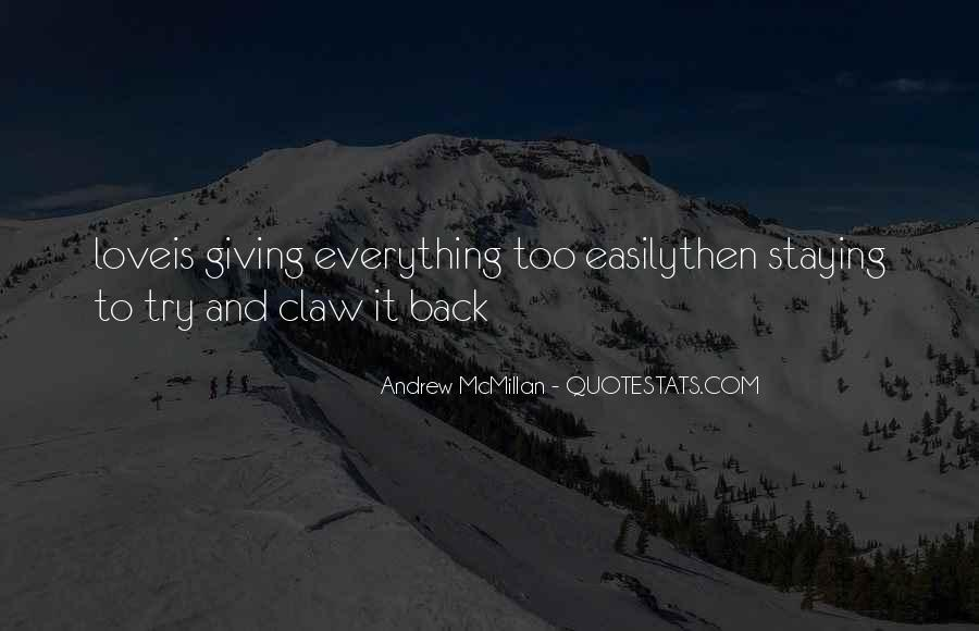 Giving It Everything Quotes #117551