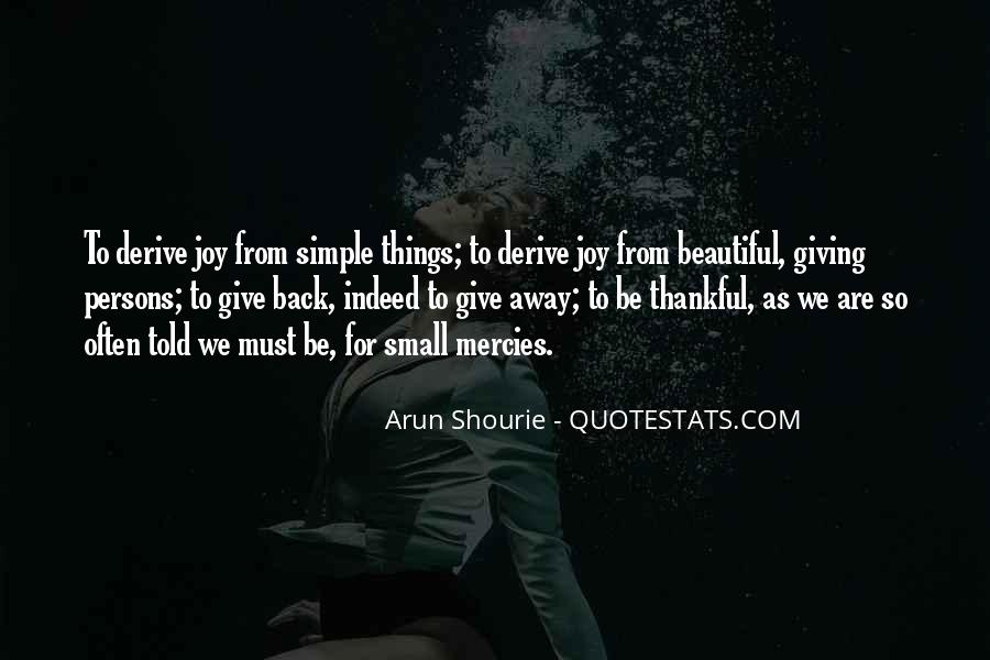 Giving Things Away Quotes #1108240