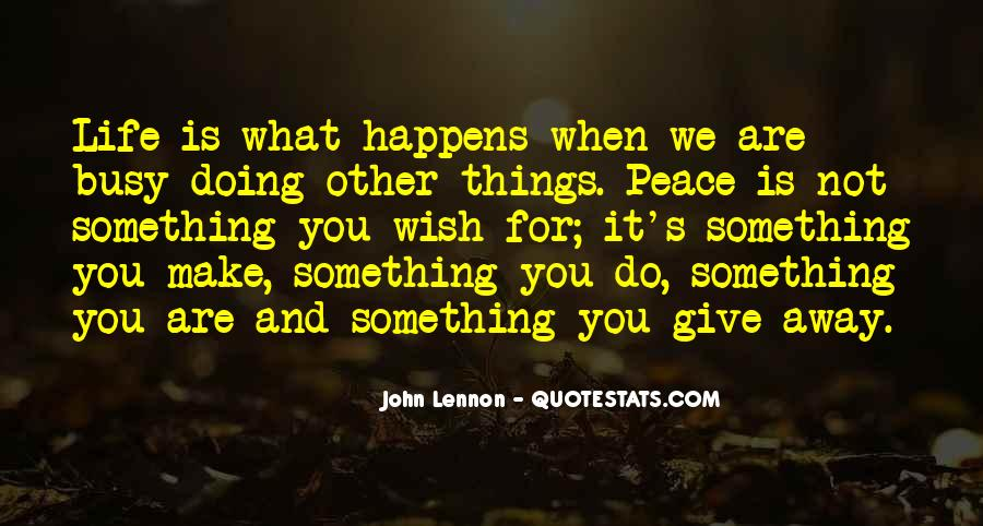 Giving Things Away Quotes #1108963