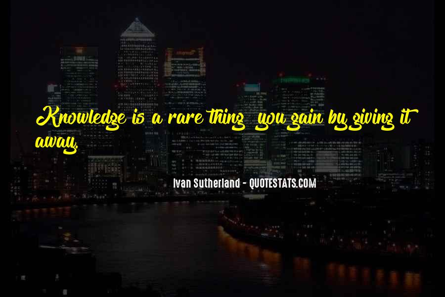 Giving Things Away Quotes #1124237