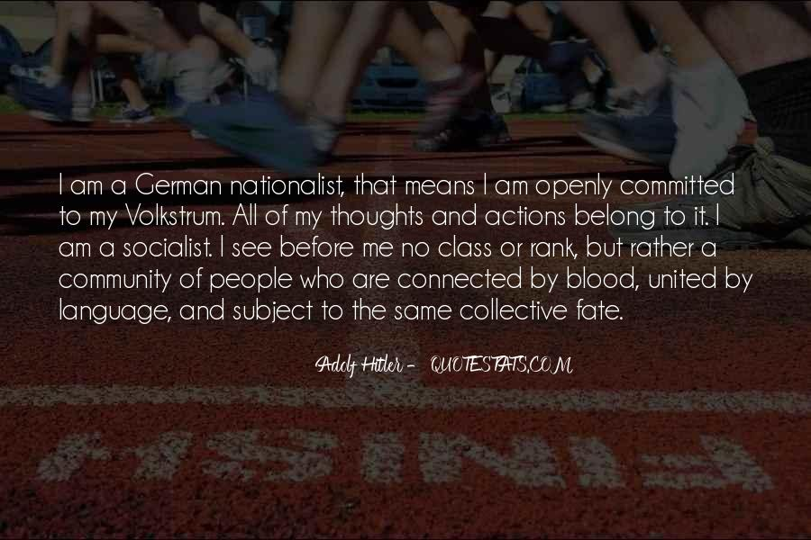 Quotes About German People #1117492