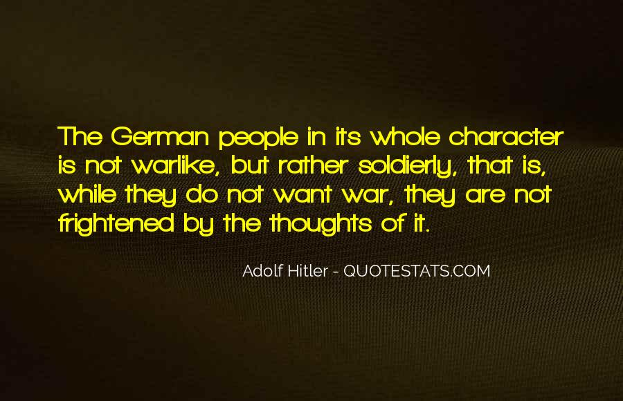 Quotes About German People #477895