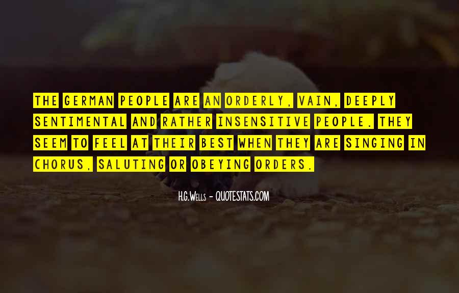 Quotes About German People #661039