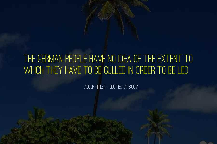 Quotes About German People #850071