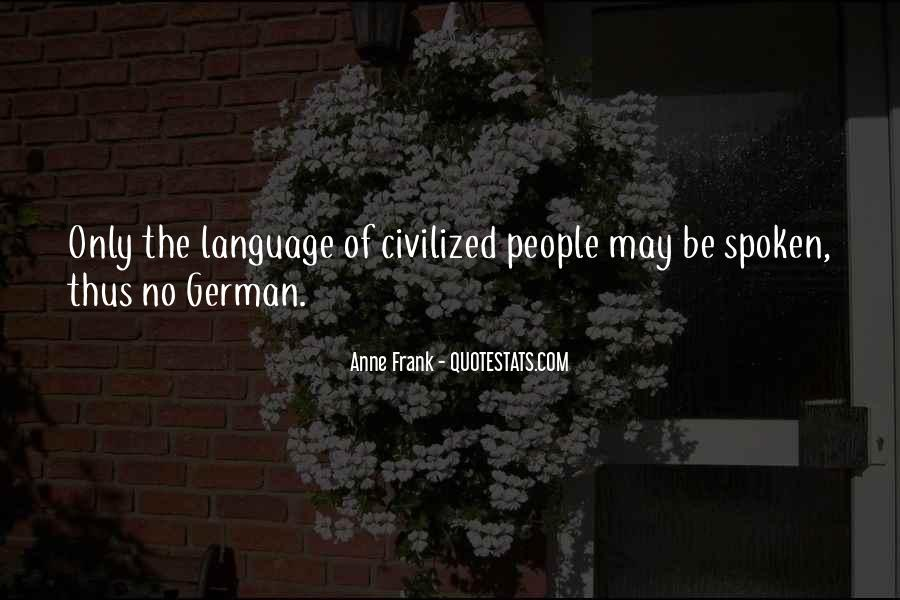 Quotes About German People #941482