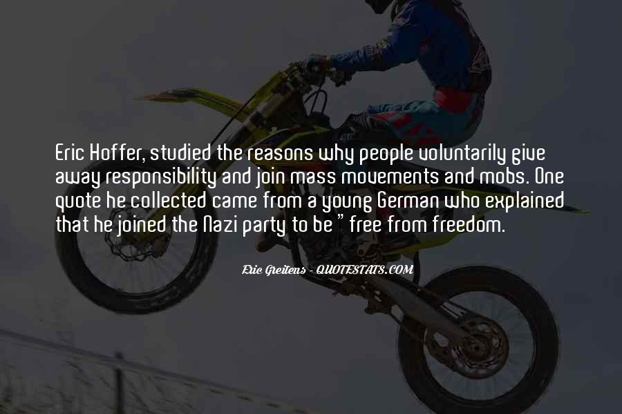 Quotes About German People #968230