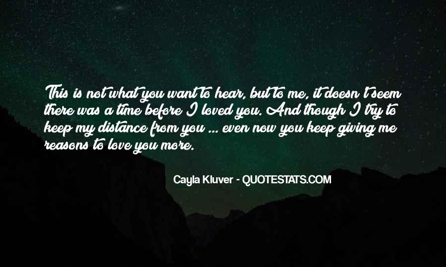 Giving You My Time Quotes #66576