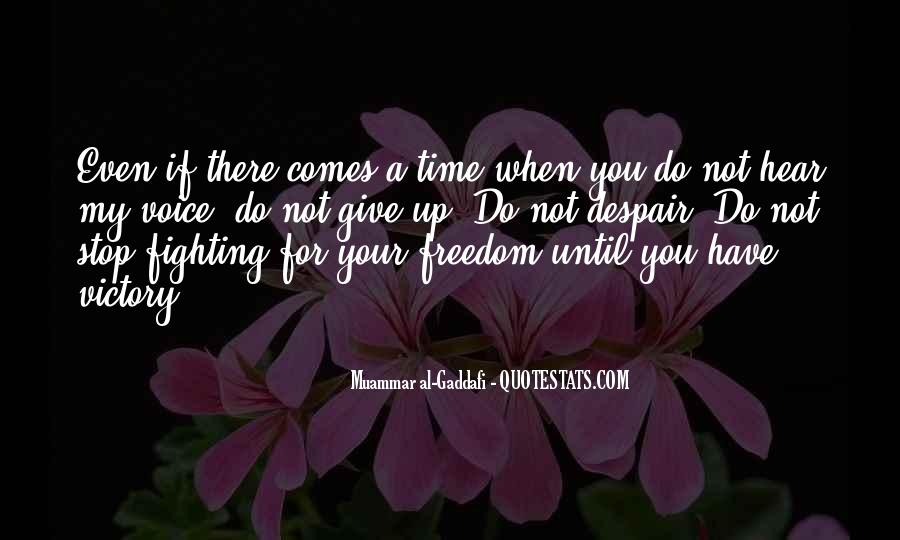 Giving You My Time Quotes #861920