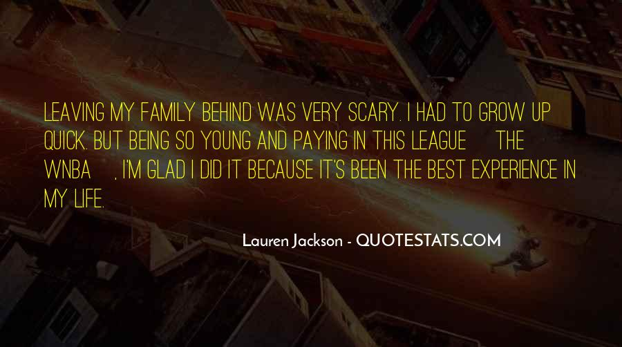 Glad We Are Family Quotes #40374