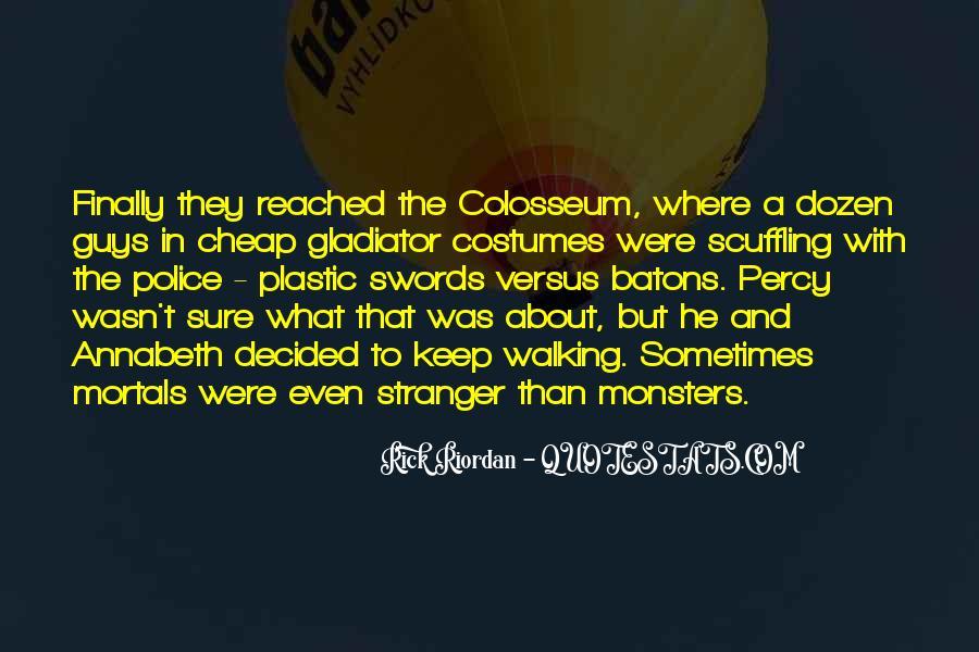 Gladiator Colosseum Quotes #5321