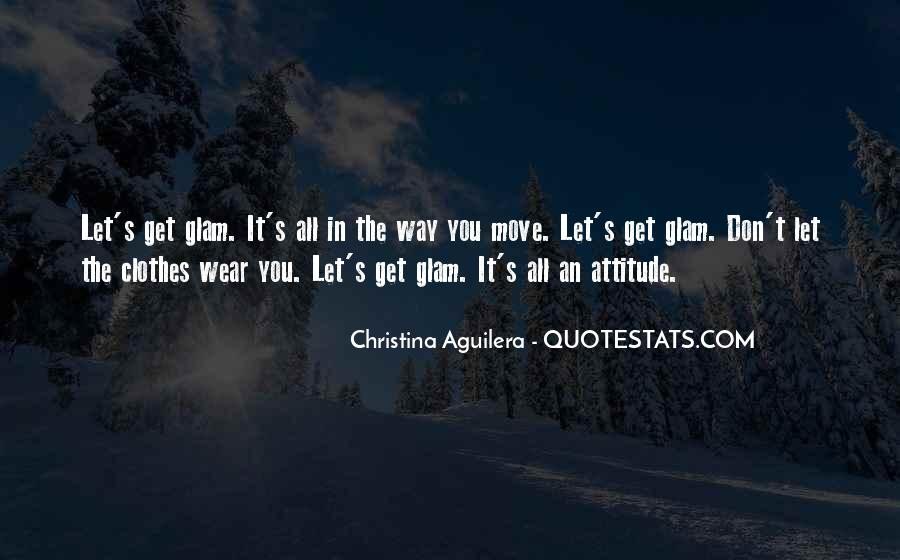 Glam Quotes #1692696