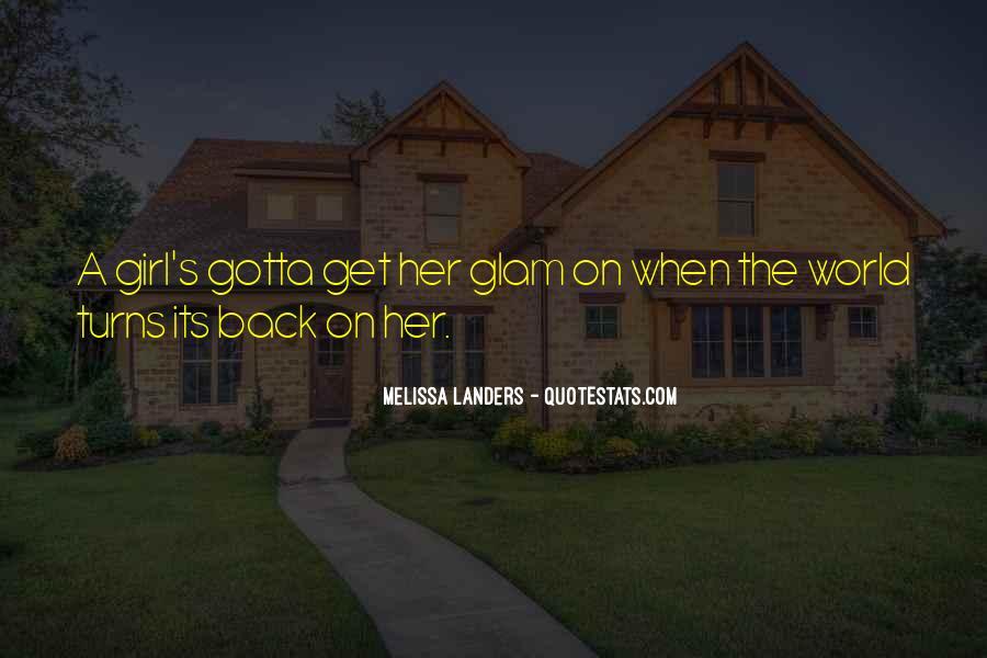 Glam Quotes #170723
