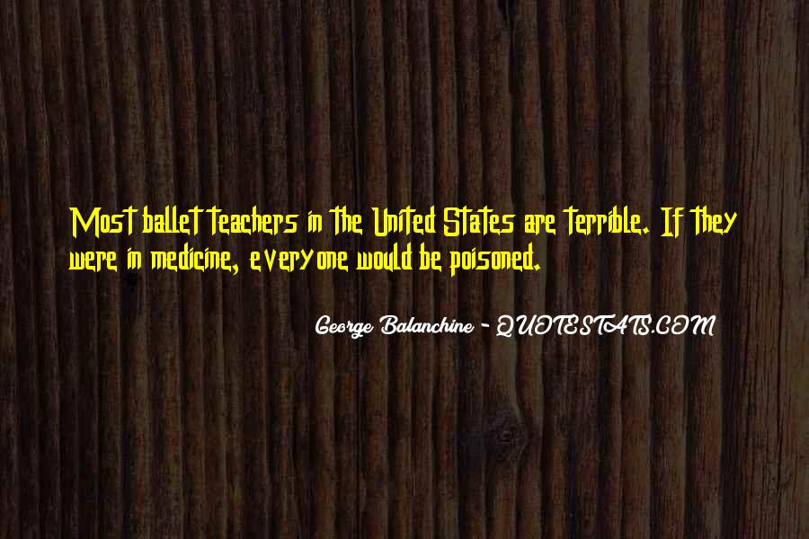 Quotes About George Balanchine #1072157