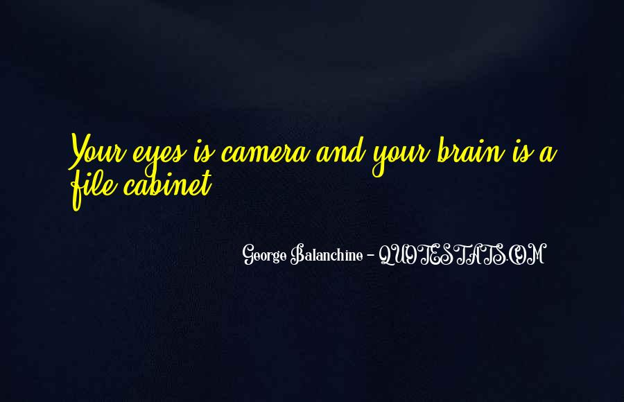 Quotes About George Balanchine #1184603