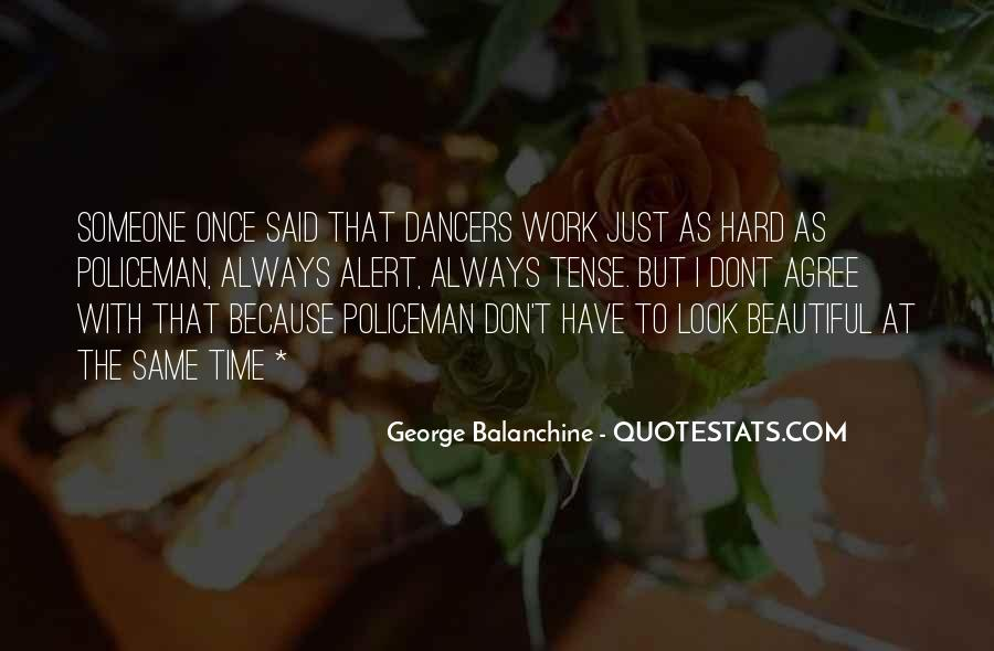 Quotes About George Balanchine #29136