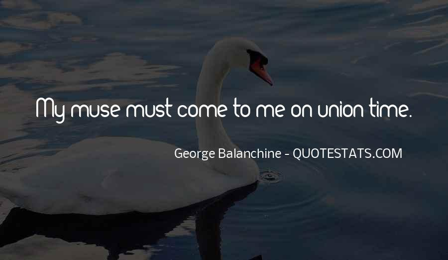 Quotes About George Balanchine #297500