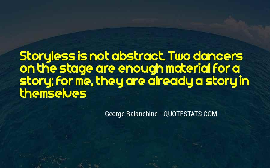 Quotes About George Balanchine #509765