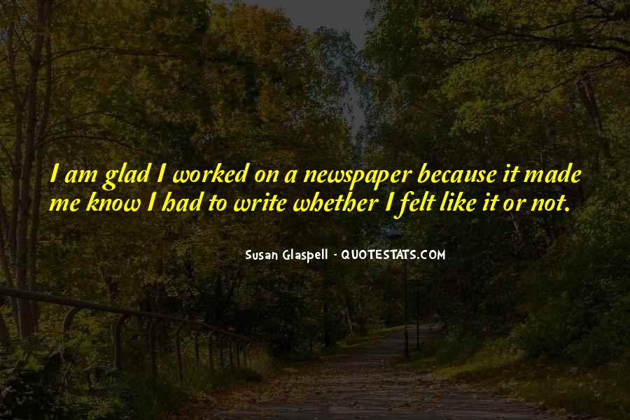 Glaspell Quotes #1378966
