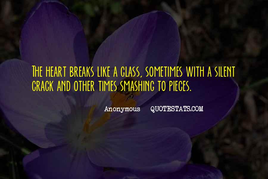 Glass Crack Quotes #719006