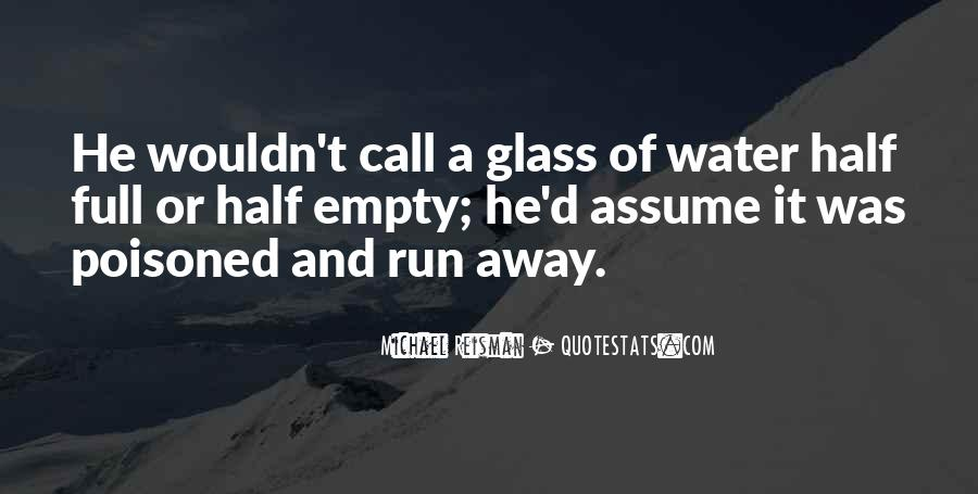 Glass Full Of Water Quotes #1525485