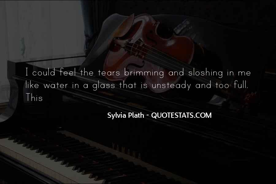 Glass Full Of Water Quotes #1690861